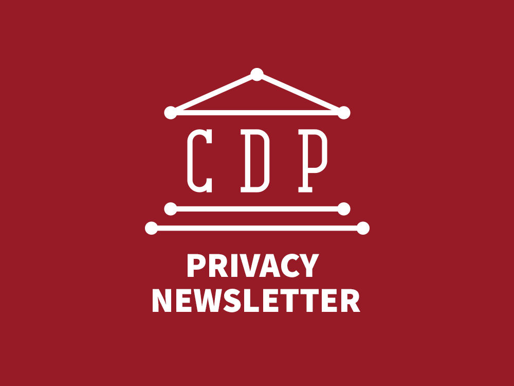 Privacy Newsletter